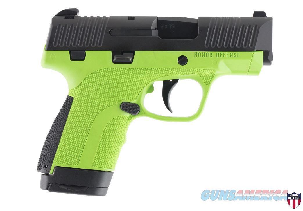 """Honor Defense Hg9sc-Ag 9Mm 3.2"""" 7/8Rd HG9SCAG  Guns > Pistols > H Misc Pistols"""