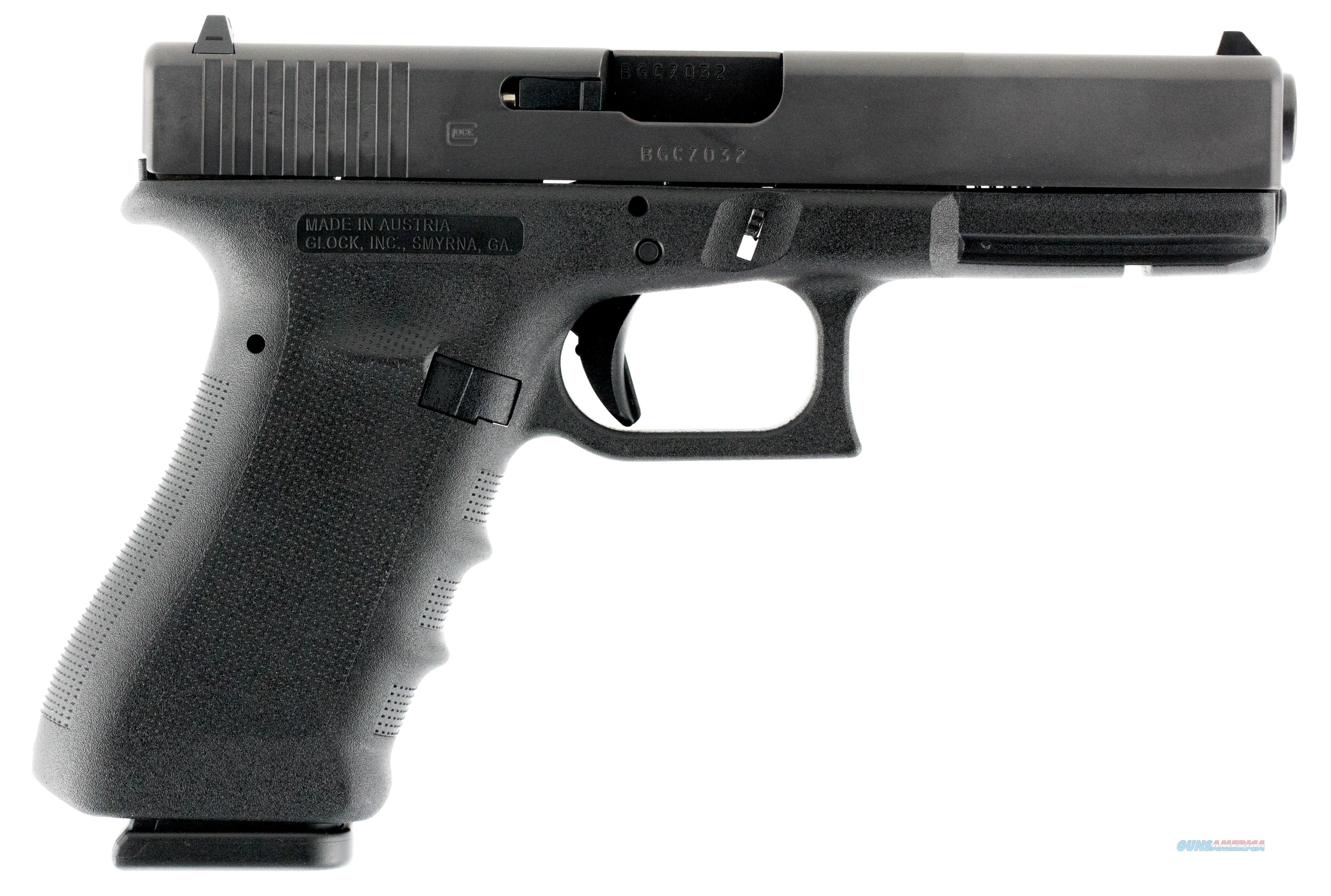 Glock 22Rtf 40S&W Straight Serration 12Rd Fixed PT2250203  Guns > Pistols > G Misc Pistols