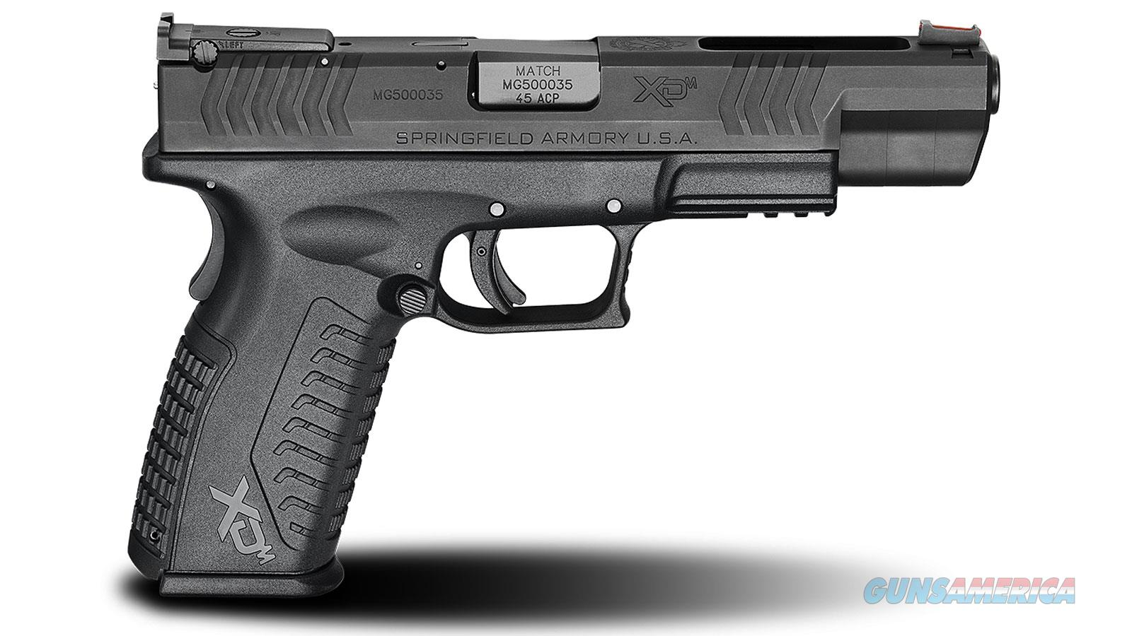 Springfield Armory Xdm 45Acp 5.25 Blk Competition Essentials XDM952545BHCE  Guns > Pistols > S Misc Pistols