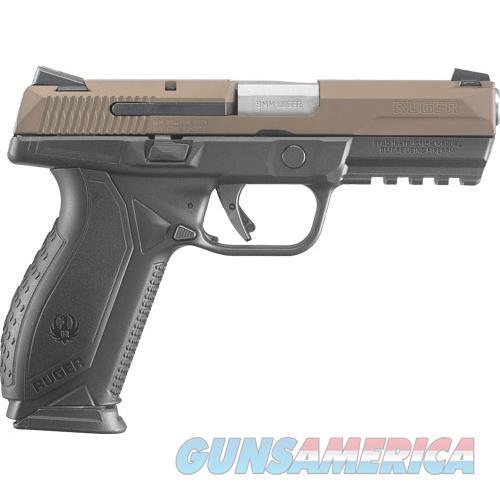 Talo American 9Mm Luger Fs 17-Shot Brown Cerakote Slde RUG 8660  Guns > Pistols > TU Misc Pistols
