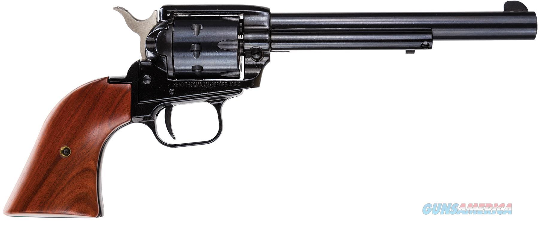 "Heritage Mfg Rr22999mb6 Rough Rider Small Bore Single 22 Long Rifle (Lr)/22 Wmr 6.5"" 9 Cocobolo Grip Blued RR22999MB6  Guns > Pistols > Heritage"