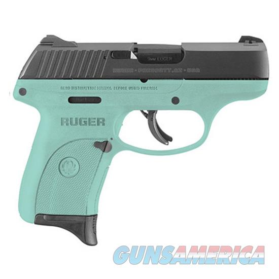 TALO TALO LC9S 9MM BLUED TURQUOISE FRAME RUG 3262  Guns > Pistols > Ruger Semi-Auto Pistols > LC9