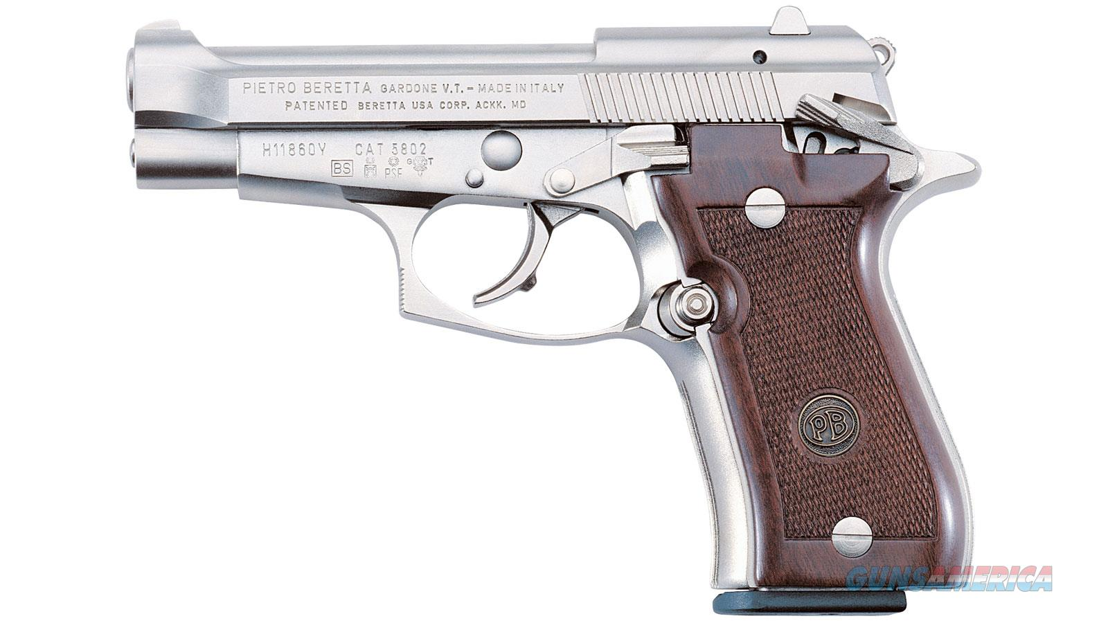 BERETTA 84FS CHEETAH 380ACP NICKEL WOOD J84F212M  Guns > Pistols > Beretta Pistols > Cheetah Series > Model 84