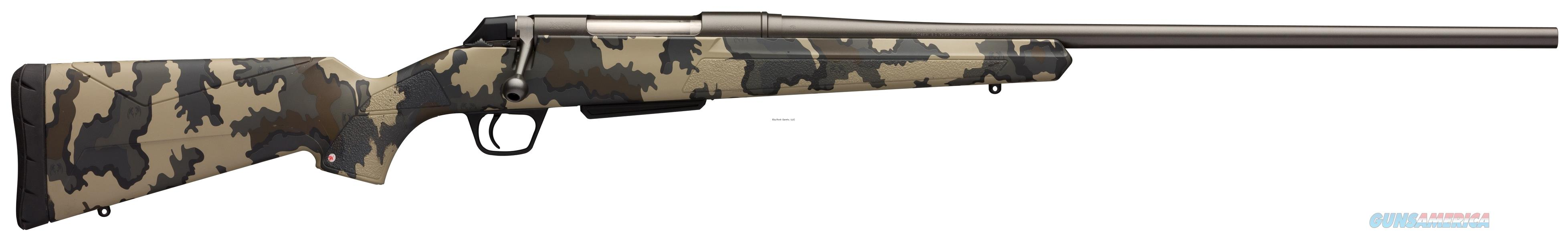 "Winchester Xpr Hunter Vias Bolt Action Rifle, 308 Win, 22"" Bbl, Permacote Gray Barrel, Vias Camo Stock 535713220  Guns > Rifles > W Misc Rifles"