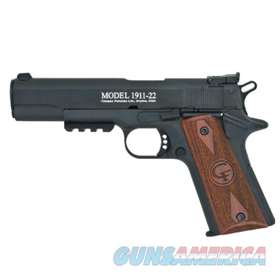 Chiappa Firearmsmks 1911-22 Target Pistol 22Lr Semi Auto 401105  Guns > Pistols > C Misc Pistols