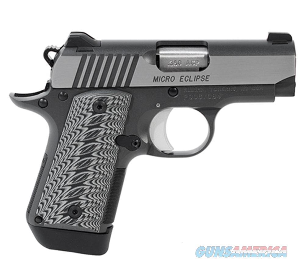 Kimber 380Acp Micro Eclipse KIM3300188  Guns > Pistols > K Misc Pistols