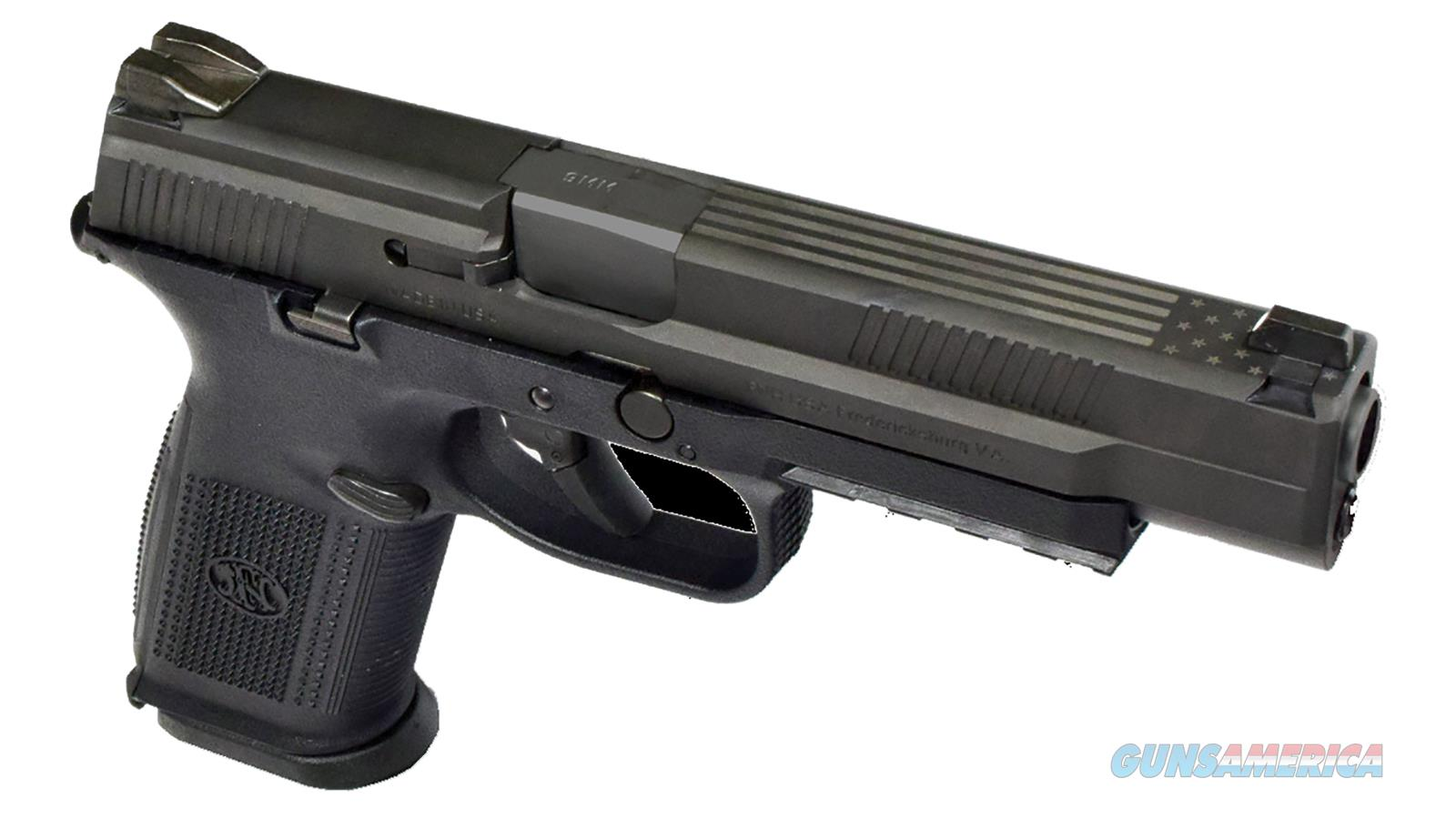 "FN MANUFACTURING FNS 9MM 5"" 17RD 66725-CUST-002  Guns > Pistols > FNH - Fabrique Nationale (FN) Pistols > FNS"