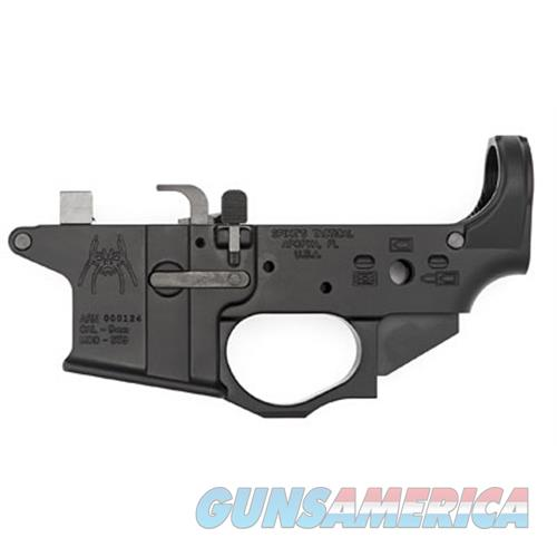 Spikes Lower Receiver Stripped 9Mm Spider Logo STLS910  Guns > Rifles > S Misc Rifles