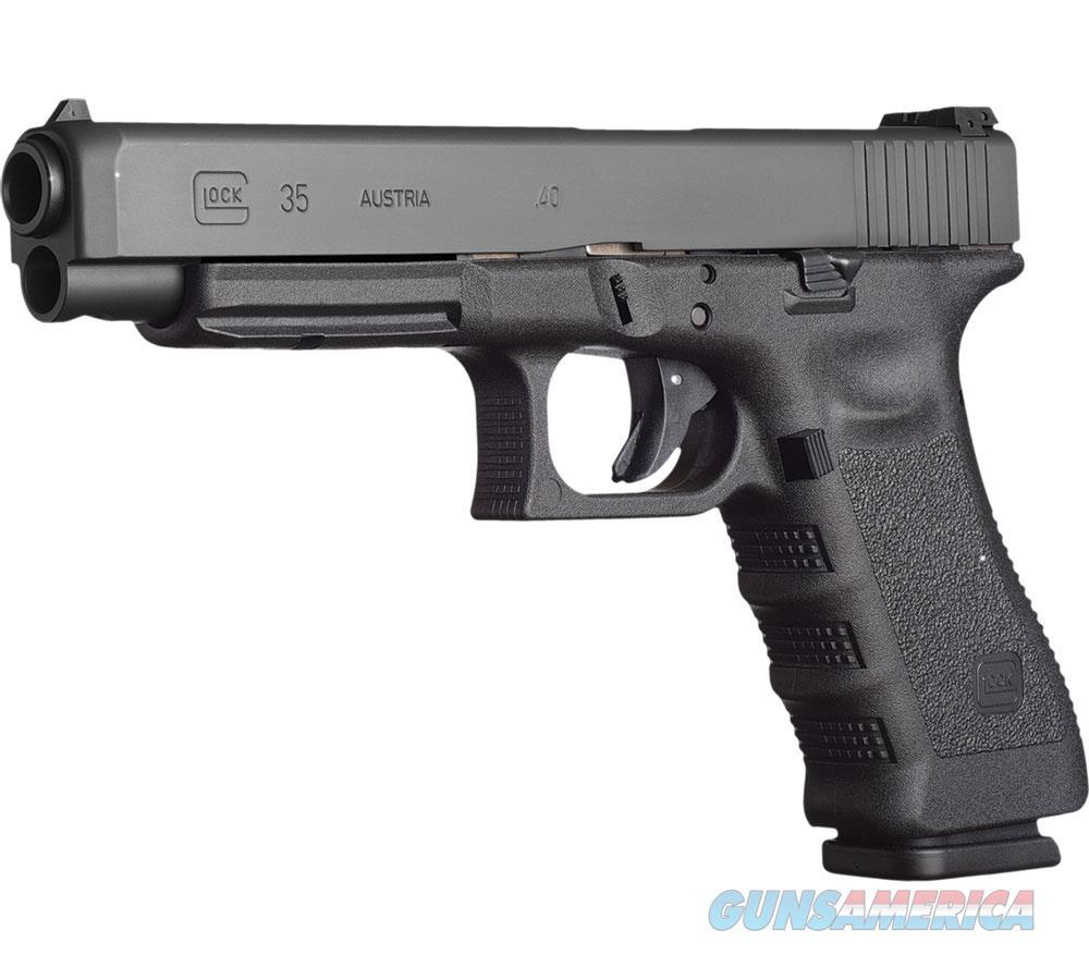 """Glock G35 Cmpet 40S&W 5.31"""" 10Rd PI3530101  Guns > Pistols > G Misc Pistols"""