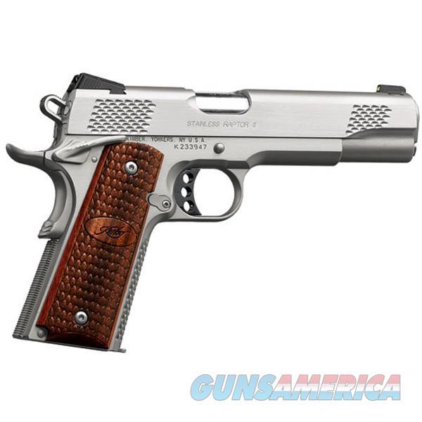 Kimber 9Mm Stainless Raptor Ii KIM3200366  Guns > Pistols > K Misc Pistols