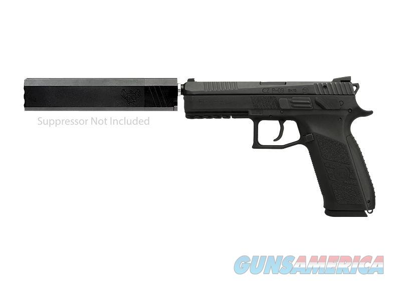 Czusa P-09 9Mm 19Rd Blk Threaded 91640  Guns > Pistols > C Misc Pistols