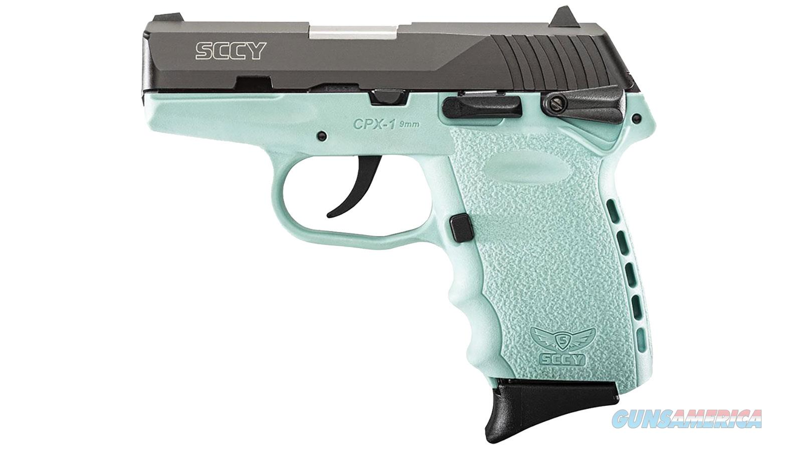 """Sccy Industries Cpx1 9Mm Dao 3.1"""" 10Rd CPX1-CBSB  Guns > Pistols > S Misc Pistols"""