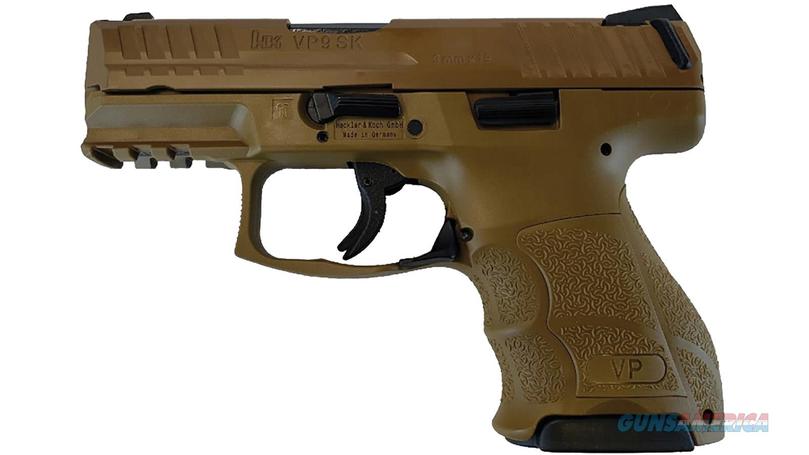 "Heckler & Koch Vp9sk 9Mm 3.4"" 10Rd Semi 81000184  Guns > Pistols > H Misc Pistols"