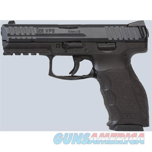 Heckler & Koch Vp9 9Mm 4.09 Blk 3 Dot Sights 2 15Rd M700009-A5  Guns > Pistols > H Misc Pistols