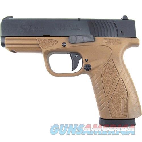 Bersa Bp Cc 9Mm Fs 8 Shot Matte W/Fde Frame BP9DECC  Guns > Pistols > B Misc Pistols