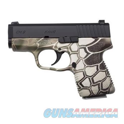 Kahr Arms Cm9 9Mm 3 Blk Slide Kryptec Frame 6Rd CM9093KRT  Guns > Pistols > K Misc Pistols