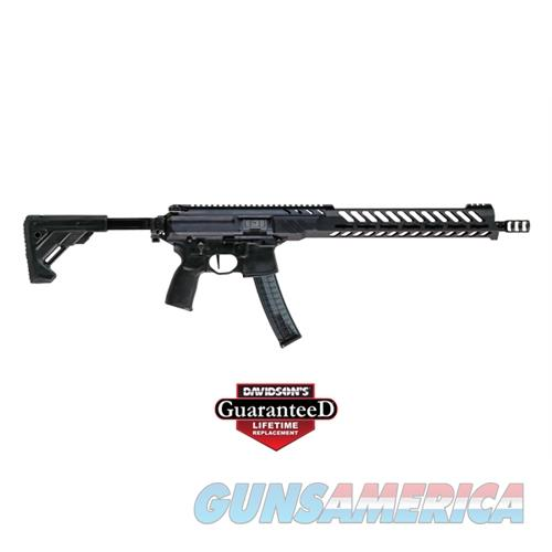 Sig Sauer Mpx Pcc Rfl 9Mm 30Rd Blk RMPX-16B-9  Guns > Rifles > S Misc Rifles