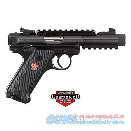 Ruger Mk-Iv Tact 22Lr Pst 4.4B 40150  Guns > Pistols > R Misc Pistols