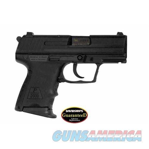 Heckler & Koch P2000sk V3 40Sw Da B 9Rd 704303  Guns > Pistols > H Misc Pistols