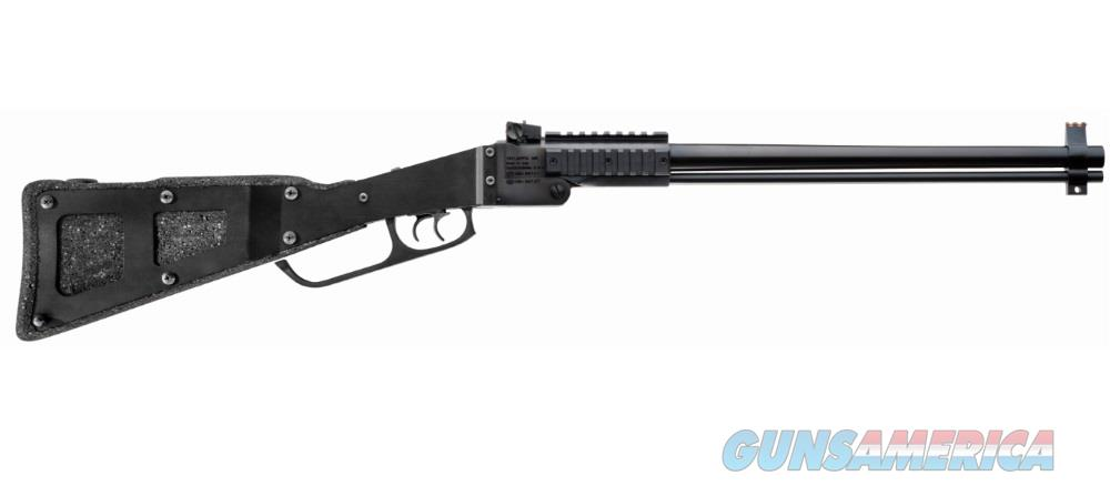 "Chiappa Firearms 500182 M6 Folding Shotgun/Rifle Break Open 22 Winchester Magnum Rimfire (Wmr) 12 Gauge 3"" Steel/Foam Stock Black 500.182  Guns > Rifles > C Misc Rifles"