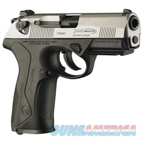 """Beretta Px4 """"F"""" 9Mm Inox 10Rd JXF9F50  Guns > Pistols > B Misc Pistols"""