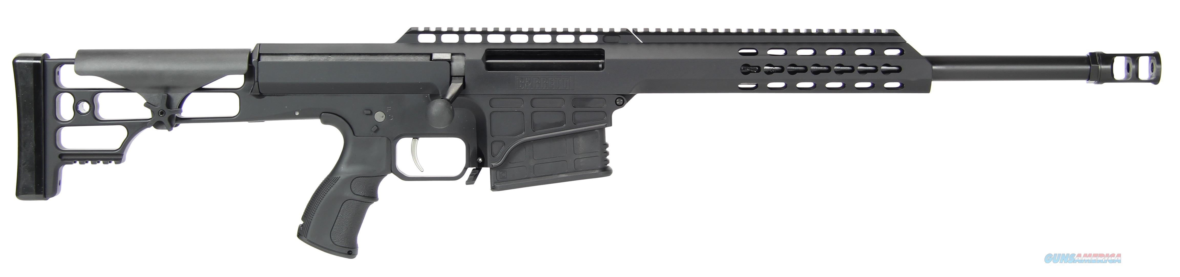 """Barrett 14800 M98b 308 Winchester 16"""" 10+1 Fixed Metal Blk Stk Blk Hard Coat Anodized 14800  Guns > Rifles > B Misc Rifles"""