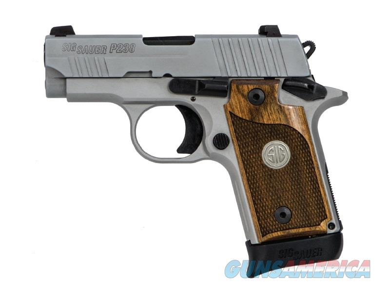 P238 Ase 380Acp Ss/Walnut 7+1 798681553471  Guns > Pistols > S Misc Pistols