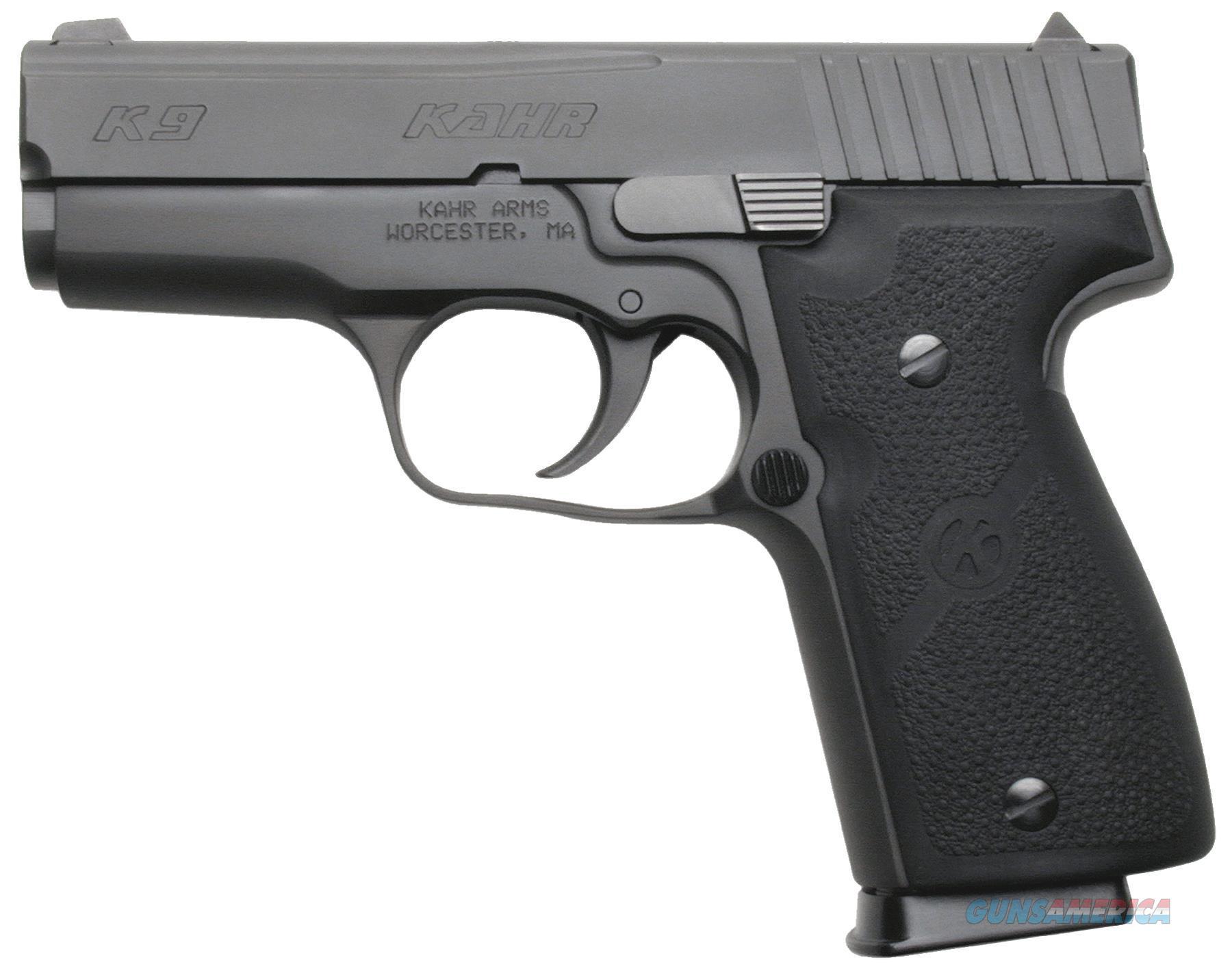 "Kahr Arms K9094 K9 Black Dao 9Mm 3.5"" 7+1 Black Poly Grip Black K9094  Guns > Pistols > K Misc Pistols"