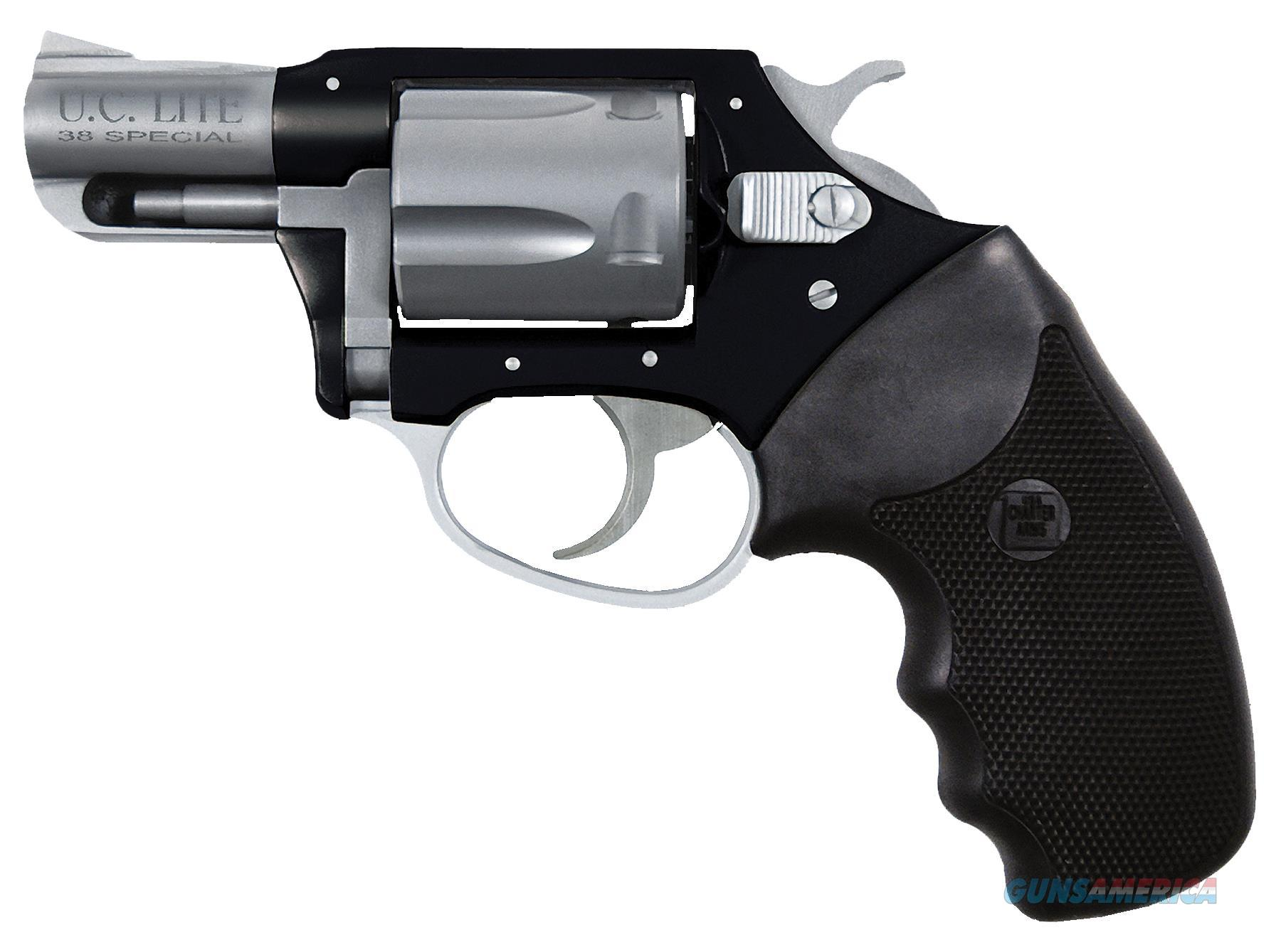 """Charter Arms 53870 Undercover Lite Standard Single/Double 38 Special 2"""" 5 Black Rubber Stainless 53870  Guns > Pistols > C Misc Pistols"""