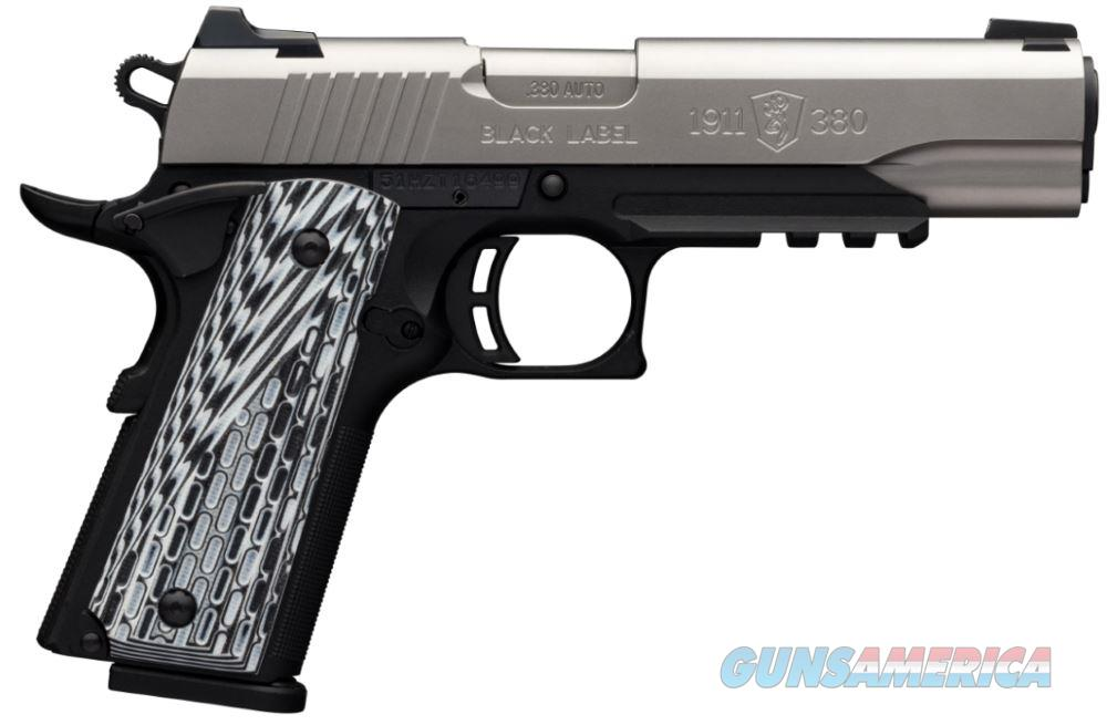 1911-380Pro 380Acp Ss Rail Ns 051927492  Guns > Pistols > B Misc Pistols