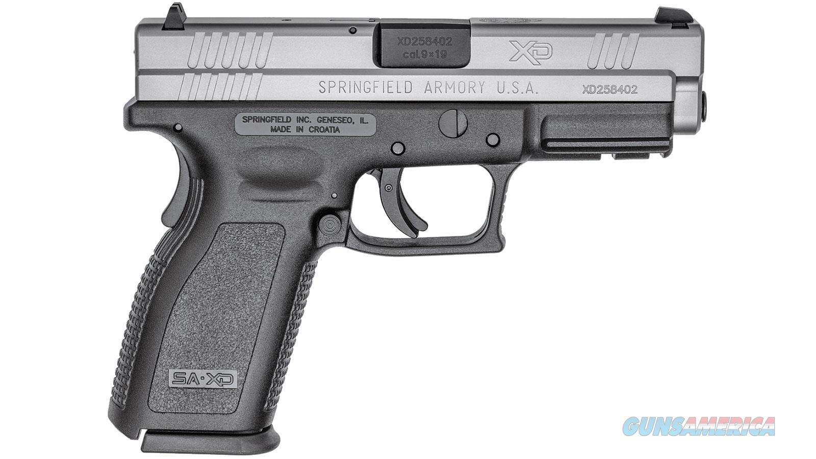 Springfield Armory Xd 9Mm 4In Bi-Tone XD9301  Guns > Pistols > S Misc Pistols