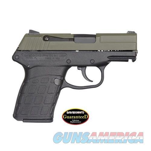 Keltec Pf-9 9Mm Dao 7Rd Grn/Blk PF-9-G-B  Guns > Pistols > K Misc Pistols