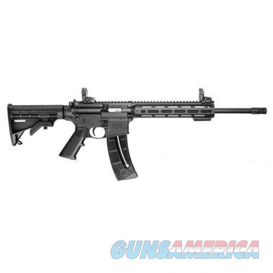 "Smith & Wesson 10208 M&P15-22 Sport Semi-Automatic 22 Long Rifle 16.5"" 25+1 6-Position Black Stk Black 10208  Guns > Rifles > S Misc Rifles"