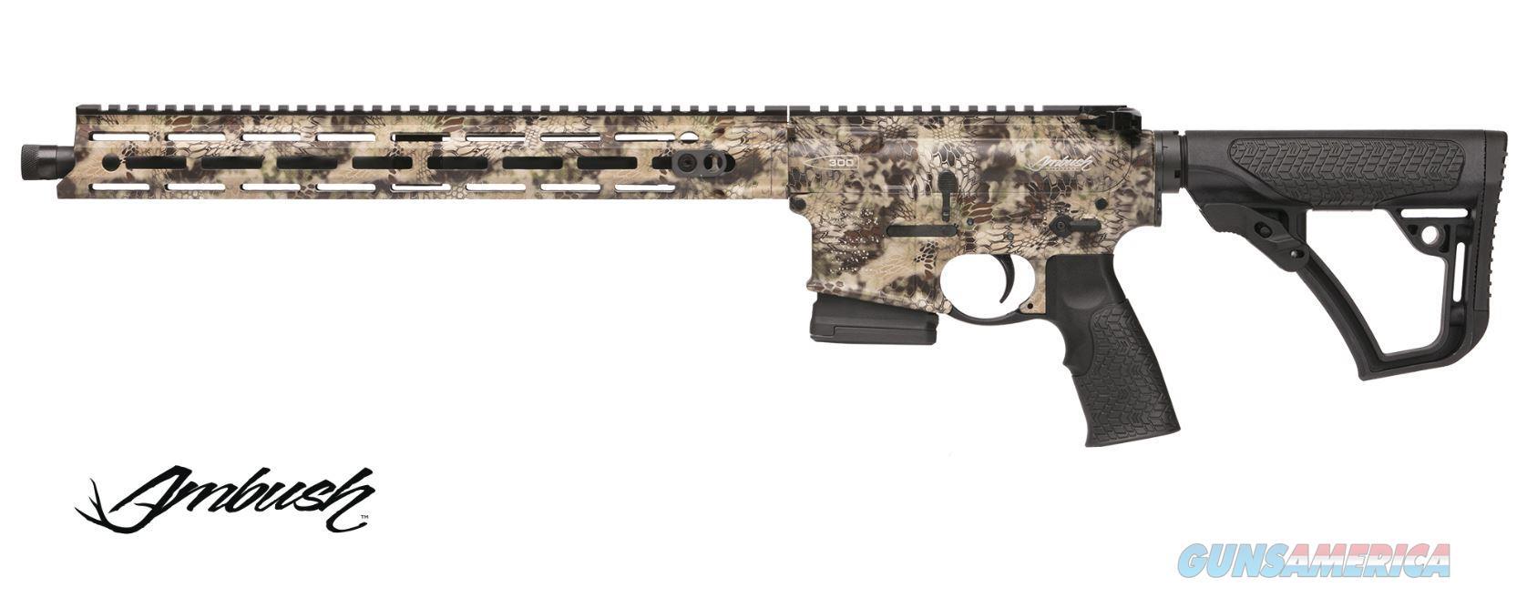 "Daniel Defense Ddm4 Ambush 300Blk 16"" 5Rd 01216  Guns > Rifles > D Misc Rifles"