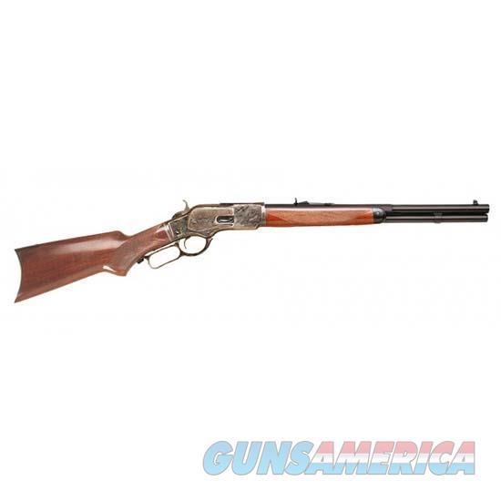 Cimarron Firearms Uberti 1873 357Mag Texas Brush Popper 18.5 CA2025  Guns > Rifles > C Misc Rifles