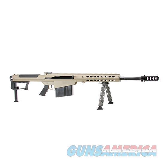 Barrett M107a1 50Bmg Tan 20 Fluted Fde Bbl 14558  Guns > Rifles > Barrett Rifles