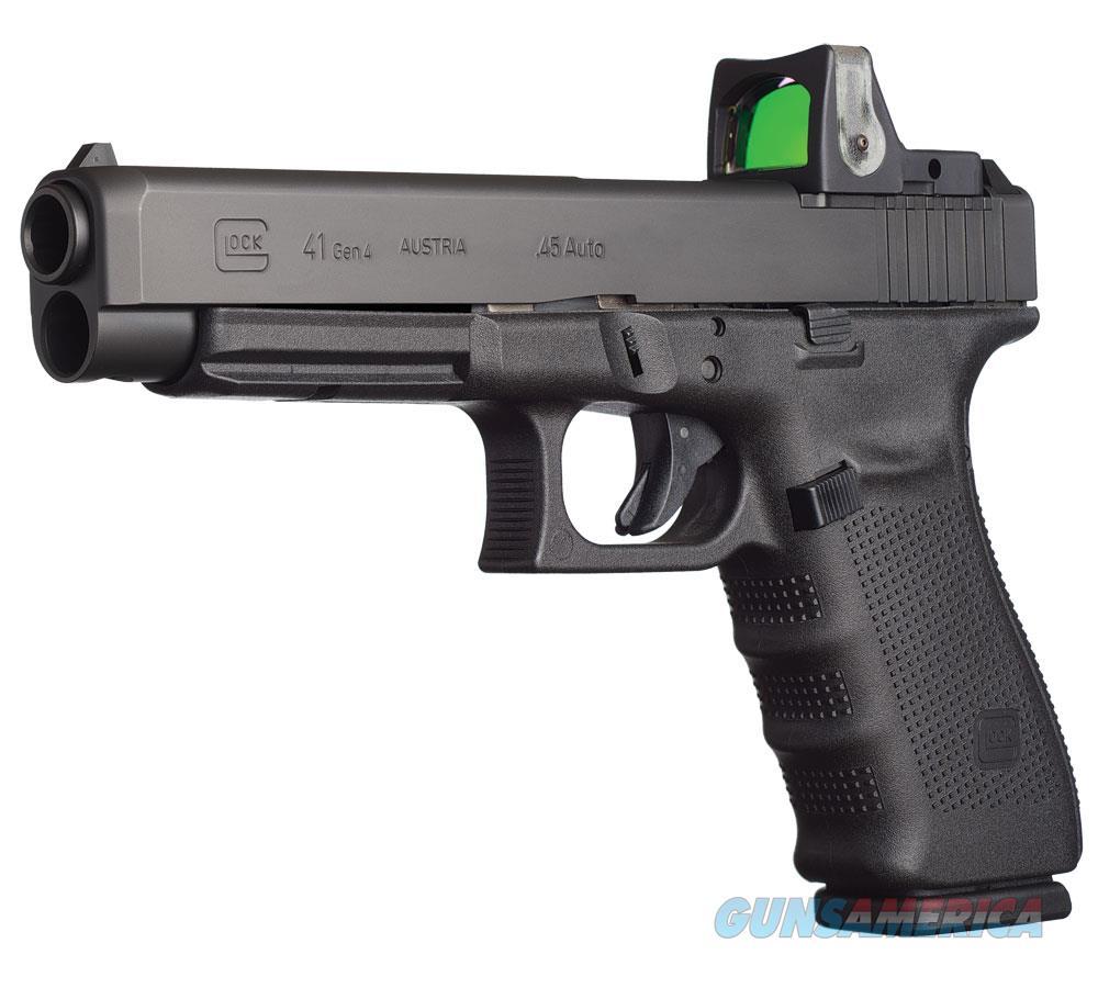 """Glock G41 Mos 45Acp 5.3"""" 10Rd Blk PG4130101MOS  Guns > Pistols > G Misc Pistols"""