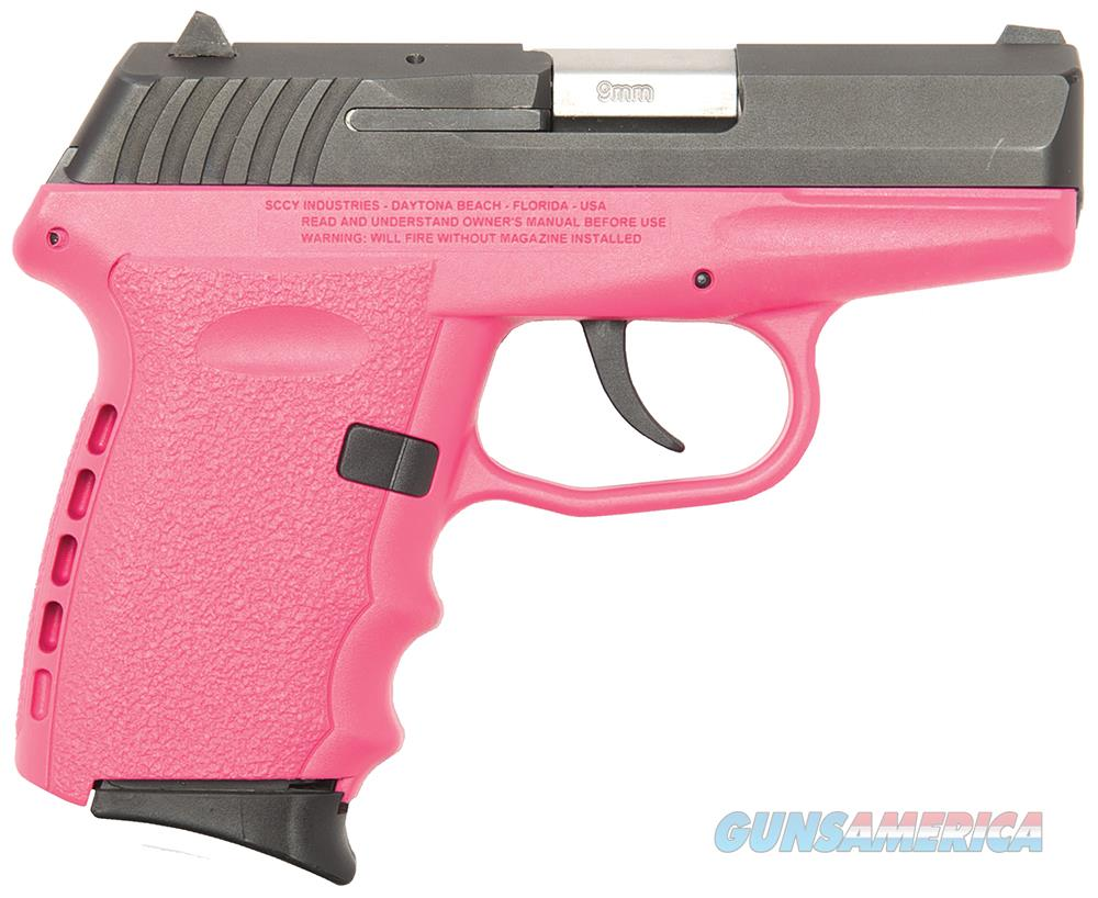 Sccy Industries Cpx2-Cb Pistol Dao 9Mm 10Rd Black/Pink W/O Safety CPX2-CBPK  Guns > Pistols > S Misc Pistols