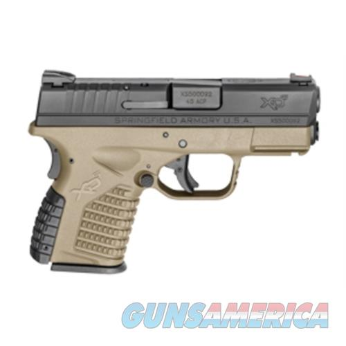 "Mge Wholesale Xds 45Acp 3.3"" Fde Pistol XDS93345DEB  Guns > Pistols > MN Misc Pistols"