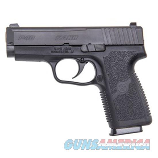 Kahr Arms P40 40Sw 3.5 Blk Ss Ns Blk Poly 7Rd Used UDKP4044NA  Guns > Pistols > K Misc Pistols
