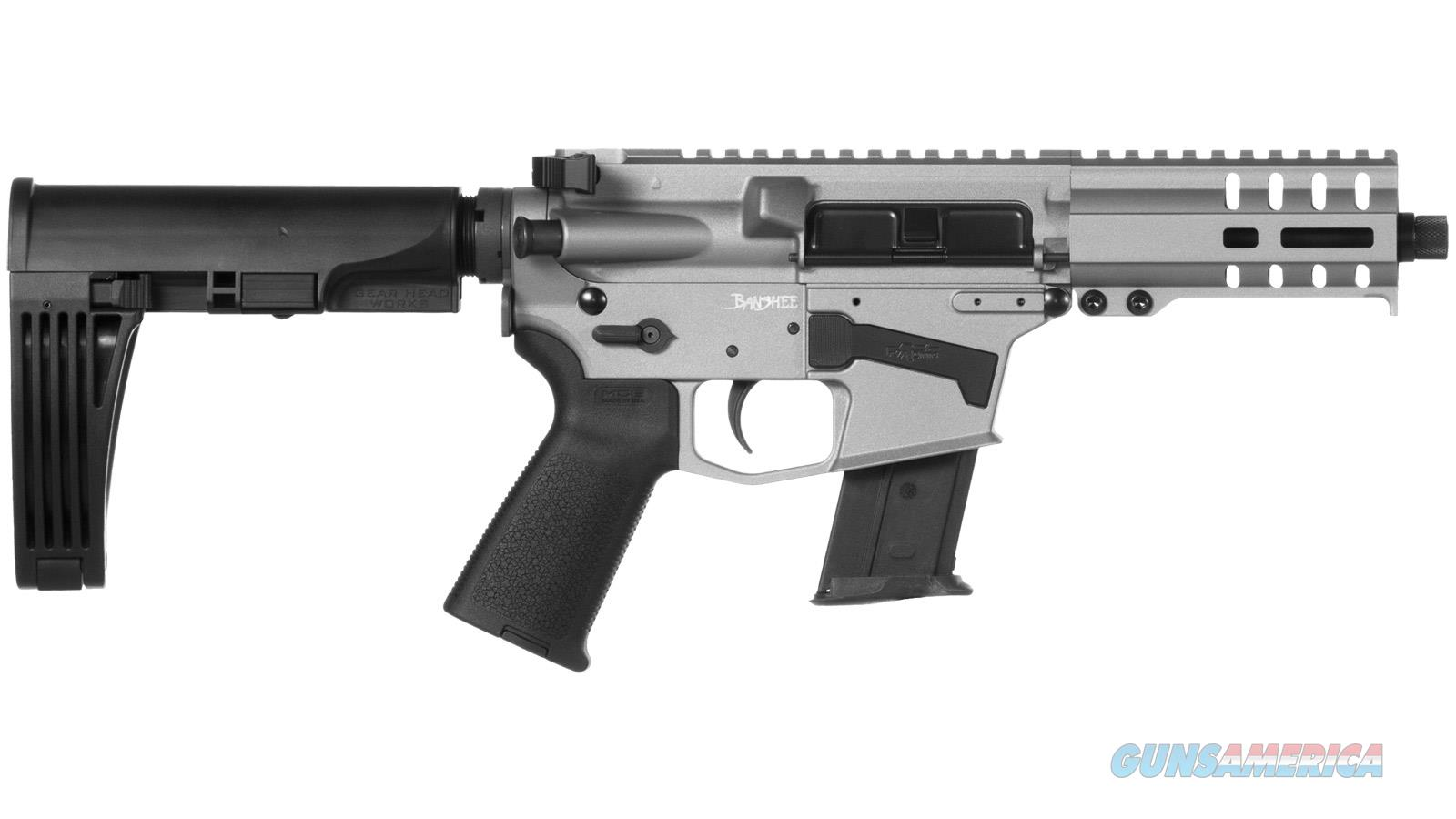 "Cmmg Banshee Pistol 5.7X28mm 5"" 20Rd Titanium Mlok Brace 57A18CDTI  Guns > Pistols > C Misc Pistols"