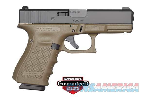 GLOCK 10 + 1 ROUND DOUBLE ACTION ONLY 9MM W/FIXED SIGHTS & OLIVE DRAB FINISH PI1957201  Guns > Pistols > G Misc Pistols