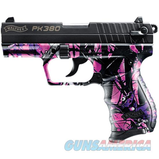 Walther Arms Pk380 380Acp 8Rd 3.66 Muddy Girl Camo 5050306  Guns > Pistols > W Misc Pistols