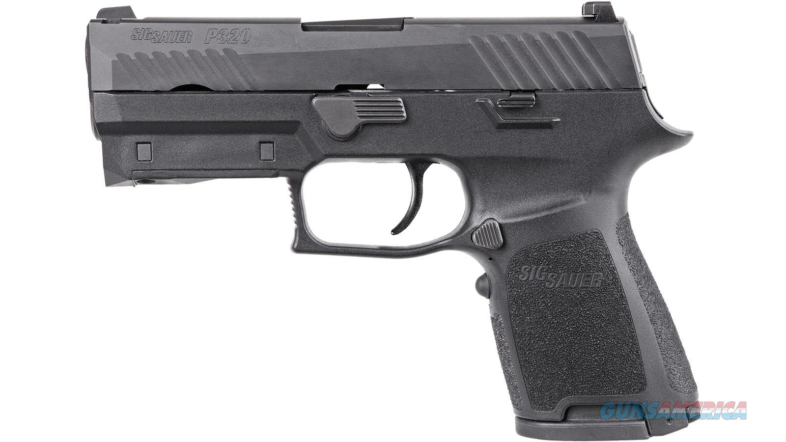 Sig Sauer P320 Compact 9Mm Blk Red Laser Cont Sights 15 320C-9-B-LIMA-R  Guns > Pistols > S Misc Pistols