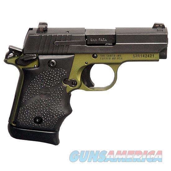 "Sig Sauer P938 9Mm  3"" Night Sight Army Green 7-Sh (Talo) SIG 9389AGFAMBI  Guns > Pistols > TU Misc Pistols"