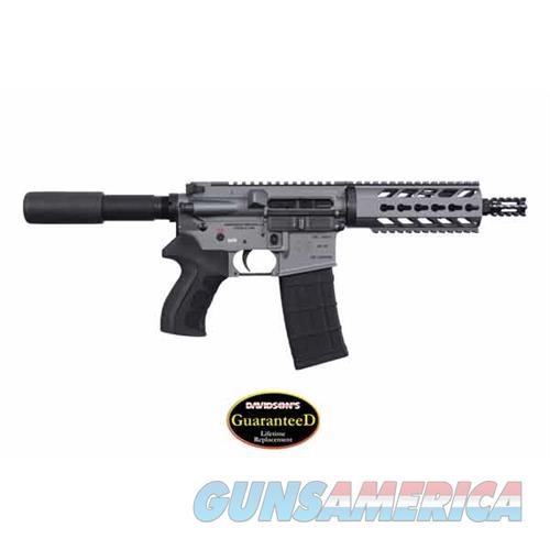 Diamondback Firearms Db15p 223 Pst 7.5 30Rd Gy DB15PTG7  Guns > Pistols > D Misc Pistols