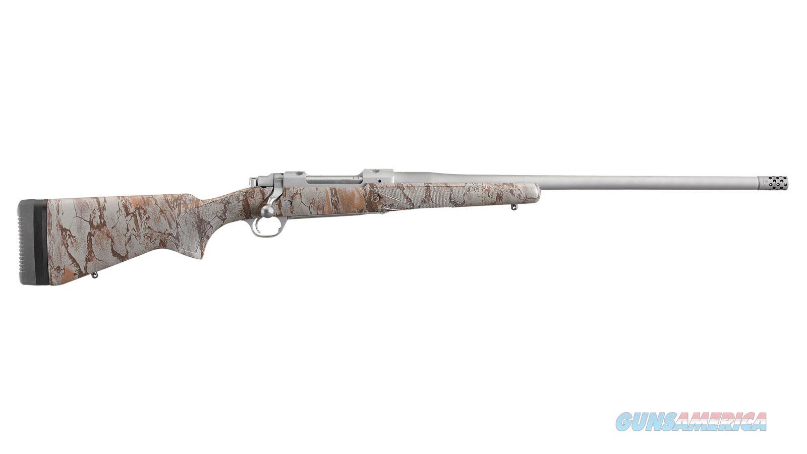 Ruger Hawkeye Ftw Hunter 308Win 22 Ss Camo Mbrak 47168  Guns > Rifles > R Misc Rifles