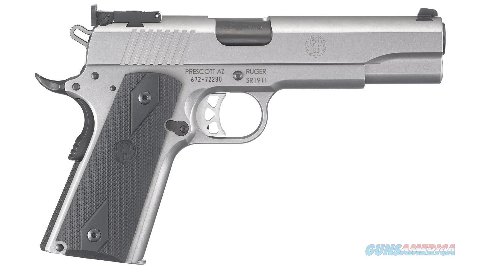 "Ruger Sr1911 10Mm 5"" 9Rd 6739  Guns > Pistols > R Misc Pistols"