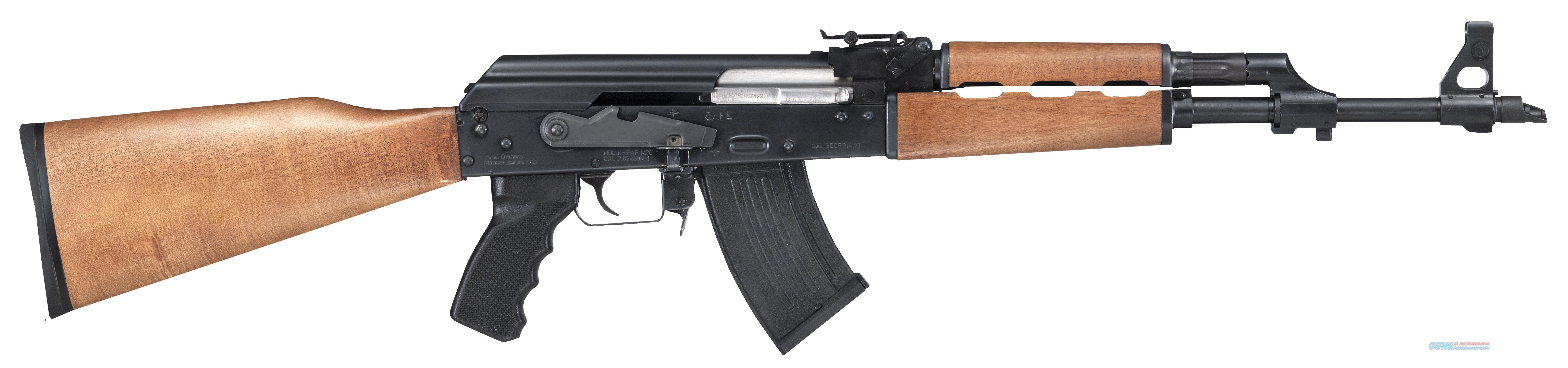 CENTURY INTERNATIONAL ARMS PAP RFL 7.62X39 10RD WOOD RI2089-N  Guns > Rifles > Century International Arms - Rifles > Rifles