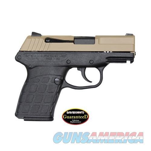 Keltec Pf-9 9Mm Dao 7Rd Tan/Black PF-9-T-B  Guns > Pistols > K Misc Pistols
